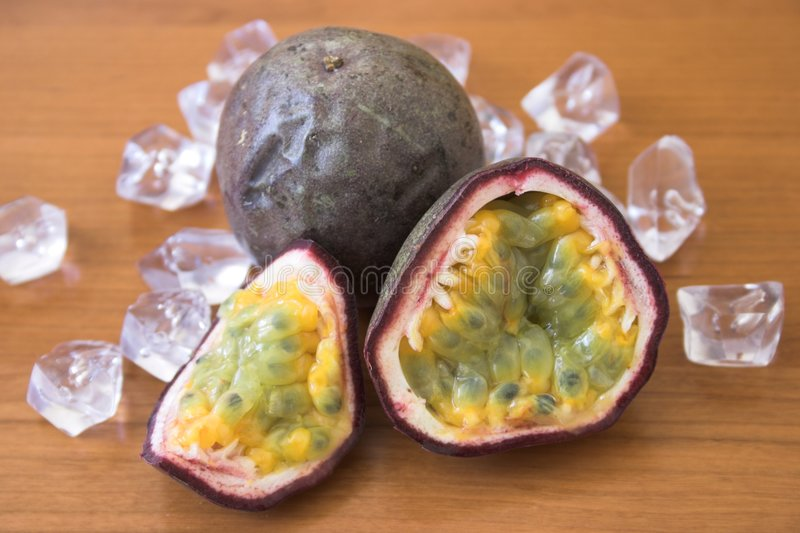 Frutas de pasión fotos de archivo libres de regalías