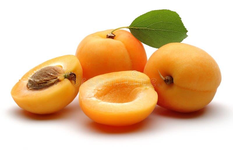 Frutas del albaricoque fotografía de archivo libre de regalías