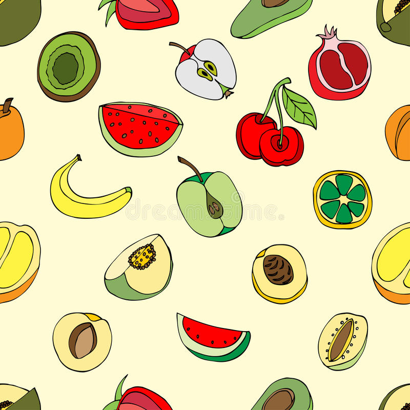 Frutas del modelo libre illustration