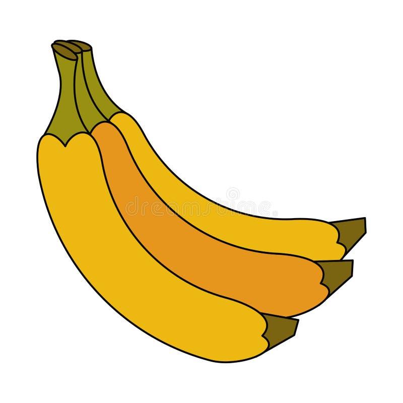 Frutas deliciosas de los plátanos libre illustration