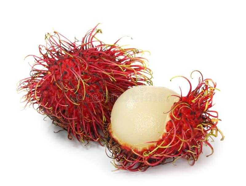 Frutas do Rambutan imagens de stock royalty free