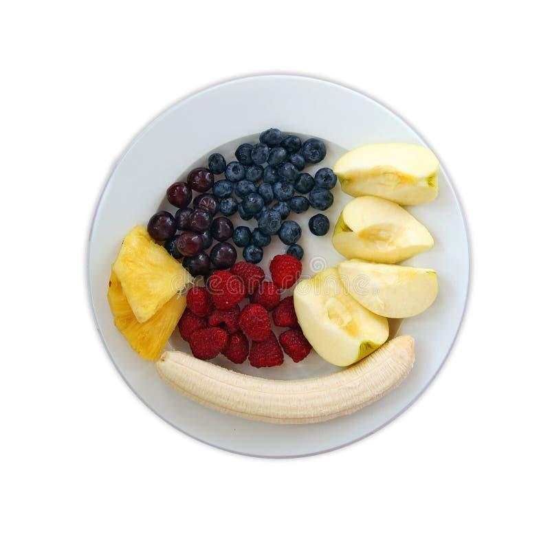 Frutas e bagas imagens de stock