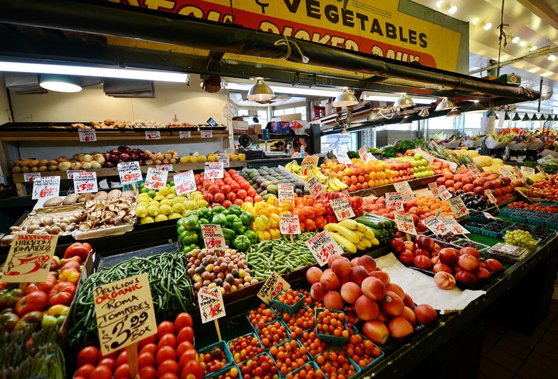 Frutas e verdura imagens de stock
