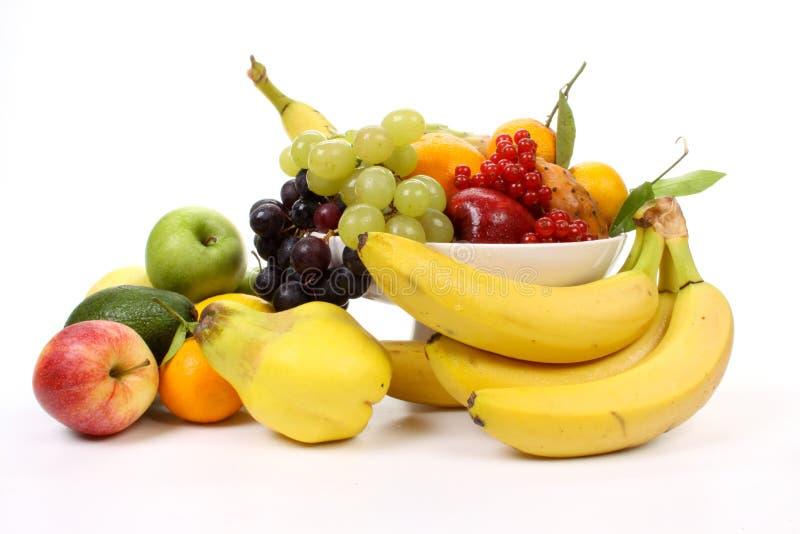 Frutas em um prato fotos de stock royalty free