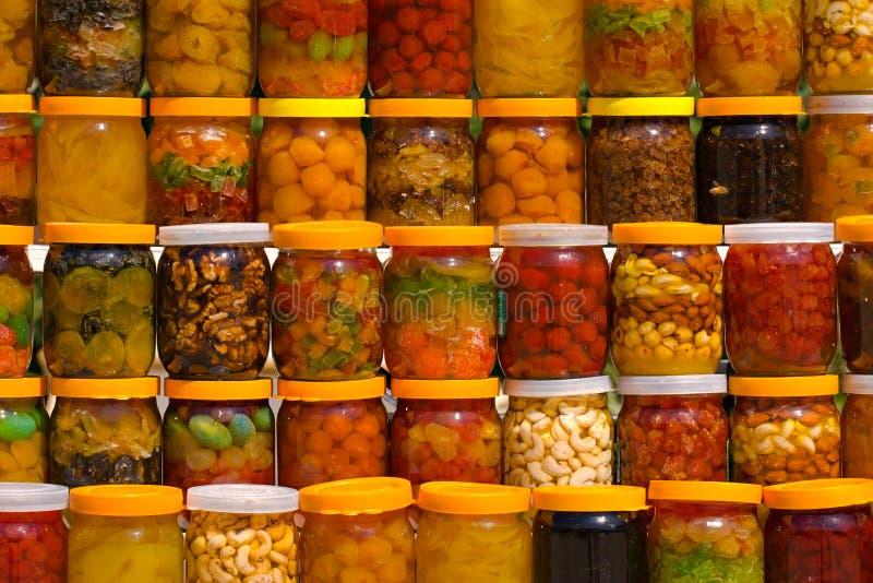 Frutas enlatadas foto de stock royalty free