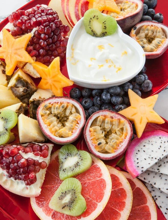 Frutas exóticas frescas foto de archivo libre de regalías