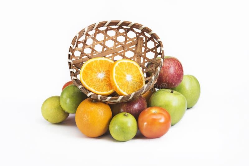 Frutas frescas de la mezcla imagen de archivo