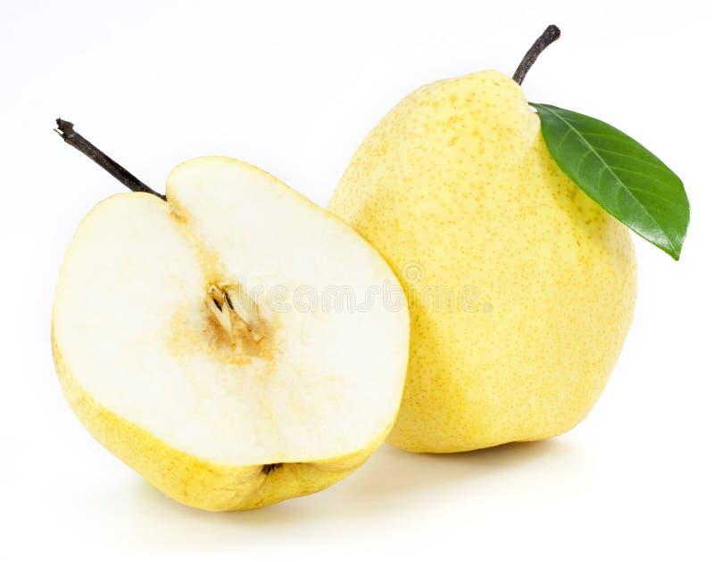 Frutas frescas de la pera imagen de archivo