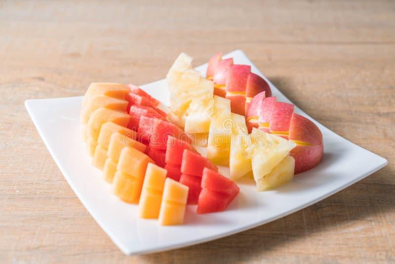 Frutas frescas mezcladas foto de archivo