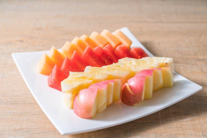 Frutas frescas mezcladas fotografía de archivo