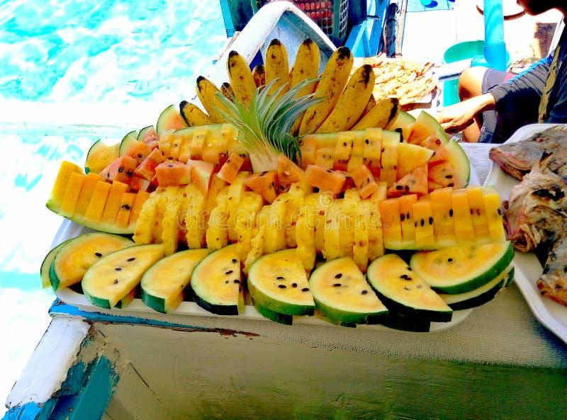 Frutas saudáveis fotografia de stock royalty free