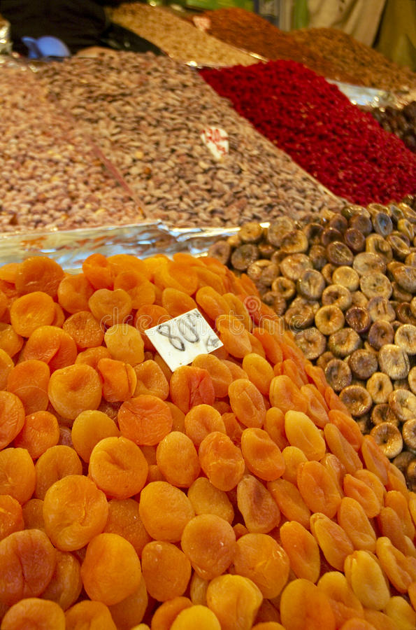 Frutas secadas foto de stock