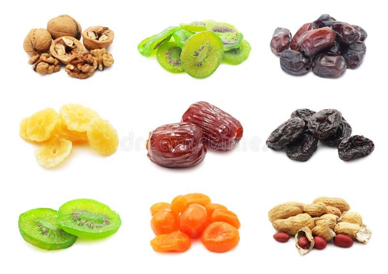 Frutas secadas foto de archivo libre de regalías