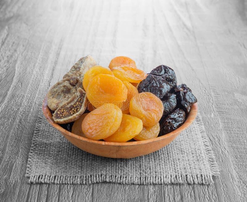 Frutas secadas imagens de stock royalty free