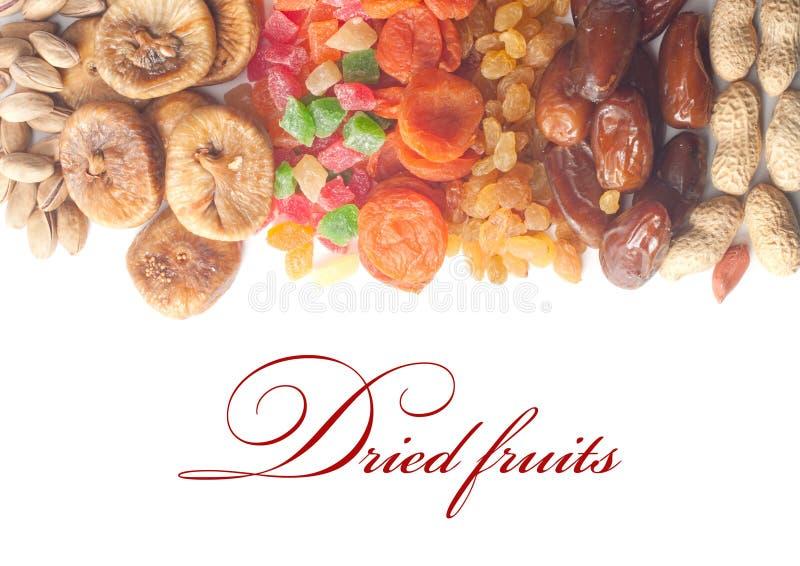Frutas secadas imagenes de archivo