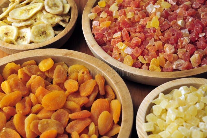 Frutas secadas y escarchadas imagen de archivo libre de regalías