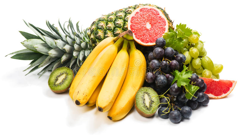 Frutas tropicais foto de stock royalty free