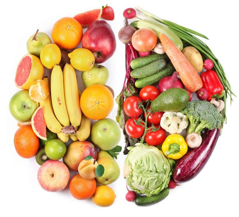 Frutas y verdura imagenes de archivo