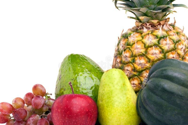 Frutas y verdura frescas fotos de archivo