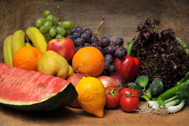 Frutas y verdura frescas