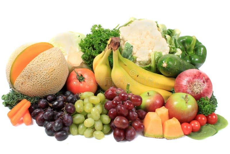 Frutas y verdura sanas foto de archivo