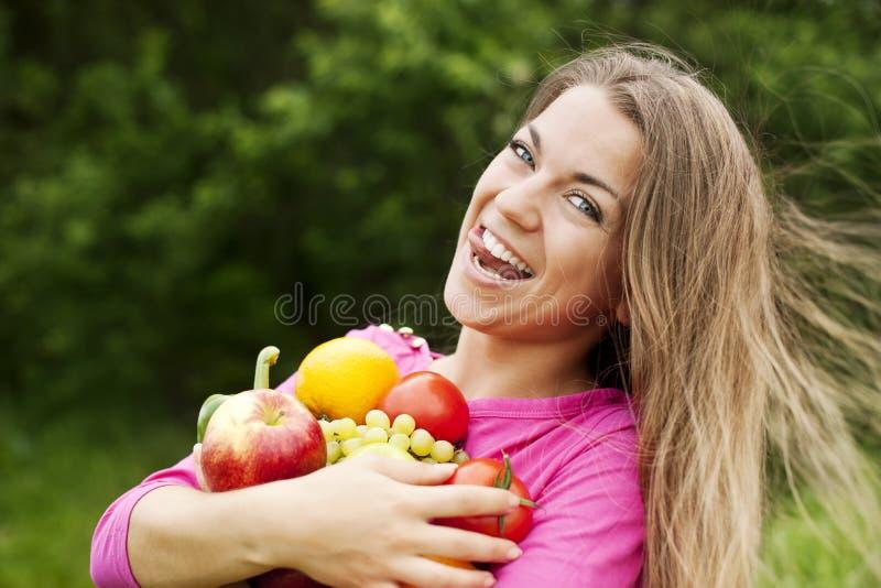 Frutas y verduras frescas foto de archivo