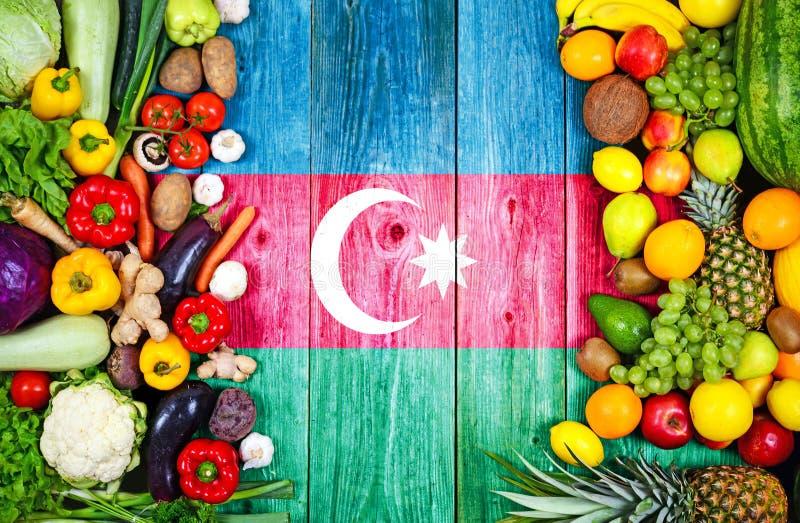 Frutas y verduras frescas de Azerbaijan foto de archivo