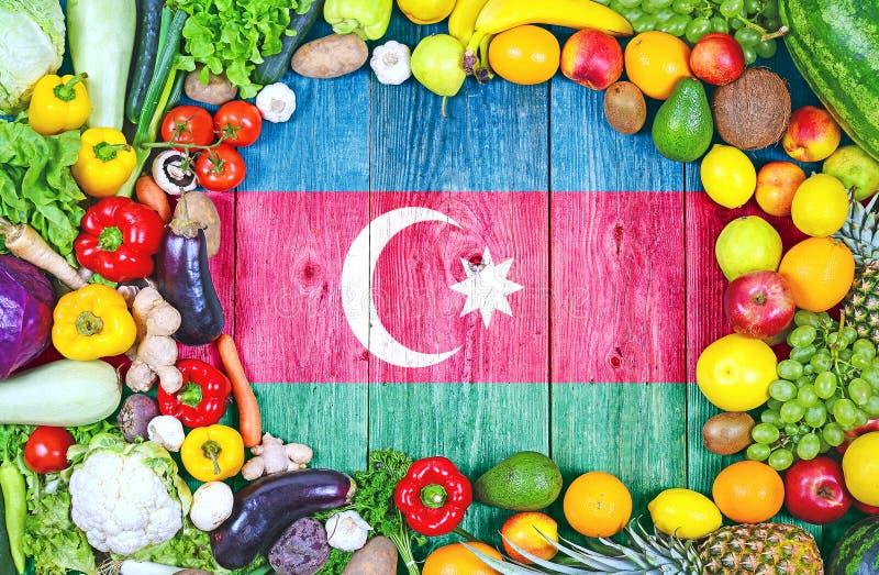 Frutas y verduras frescas de Azerbaijan fotos de archivo libres de regalías