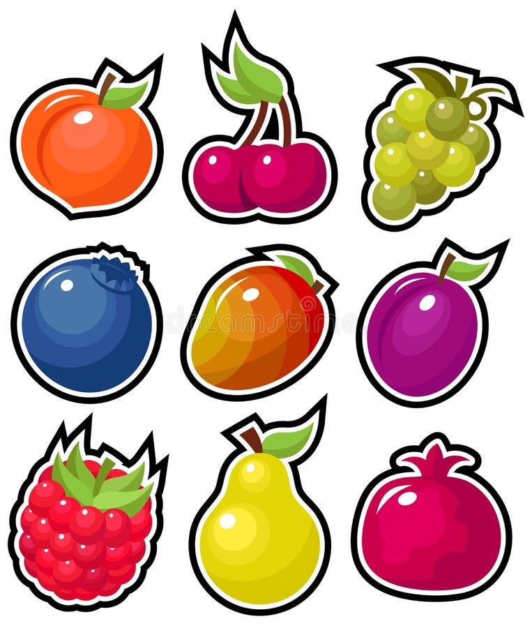Frutas Yummy fotos de stock royalty free