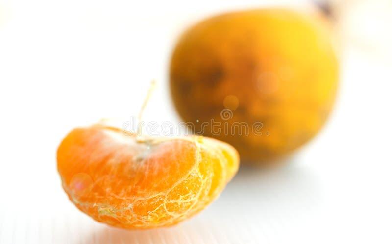 Fruto alaranjado [tangerina] fotografia de stock royalty free