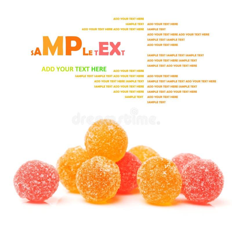 Fruto allsorts multi-colorido doces fotos de stock royalty free