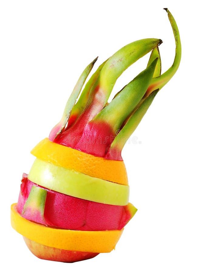 Fruto colorido da mistura criativa da posição fotos de stock royalty free