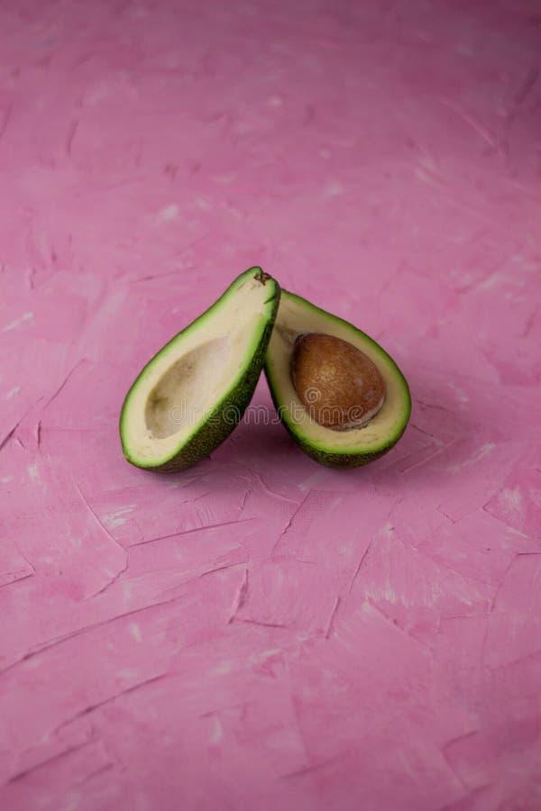 Fruto de abacate fetus imagem de stock