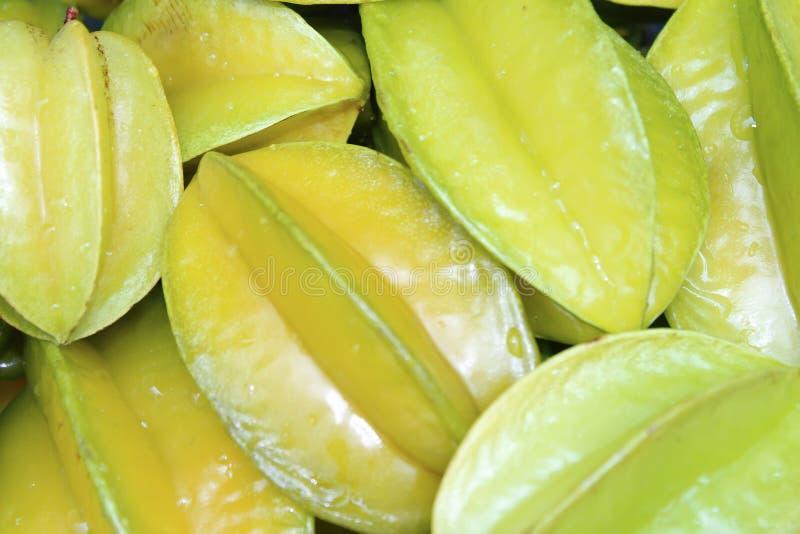 Fruto de estrela amarelo, doce e delicioso fotografia de stock