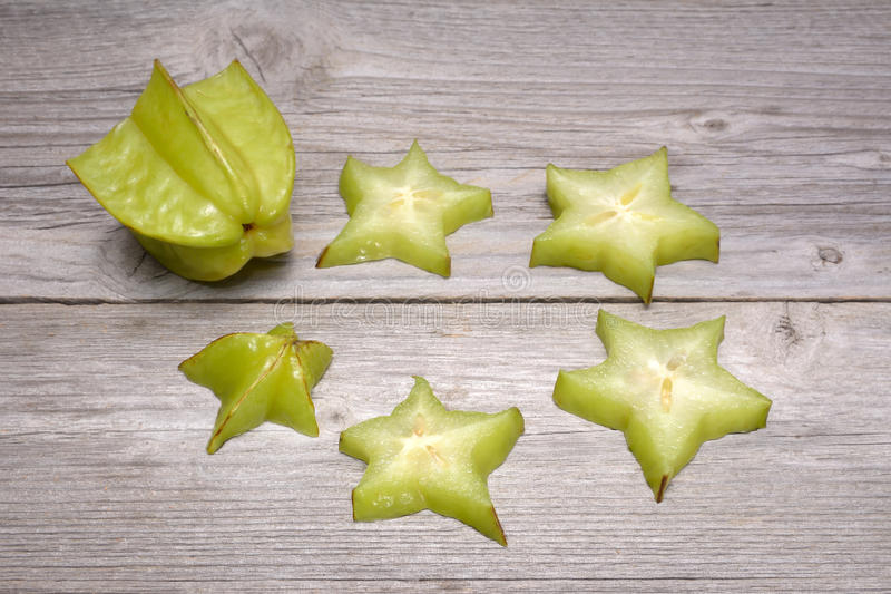 Fruto de estrela - carambola fotos de stock royalty free