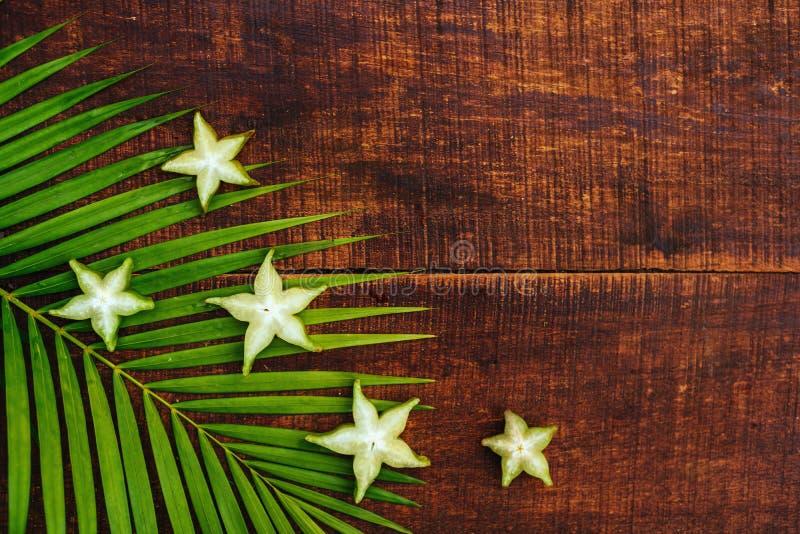 Fruto de estrela, starfruit ou ma?? de estrela foto de stock