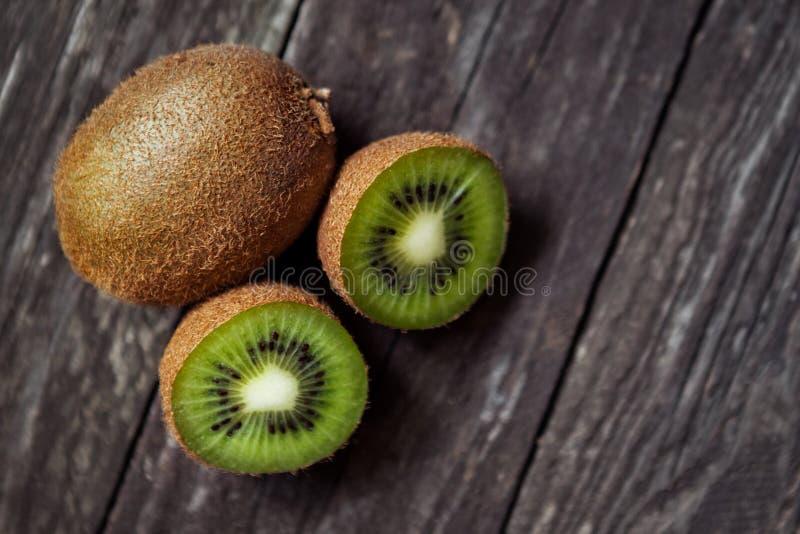 Fruto de quivi fresco verde imagem de stock
