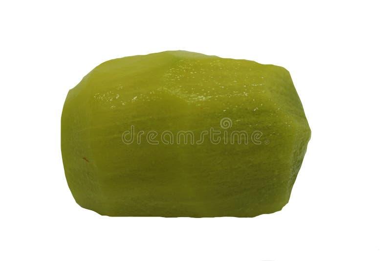 Fruto de quivi sem casca imagem de stock