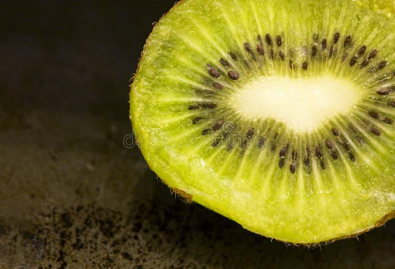 Fruto de quivi verde fresco para o café da manhã foto de stock