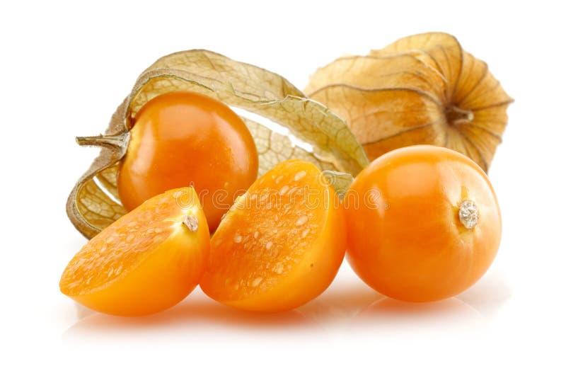 Fruto do Physalis ou baga dourada fotos de stock
