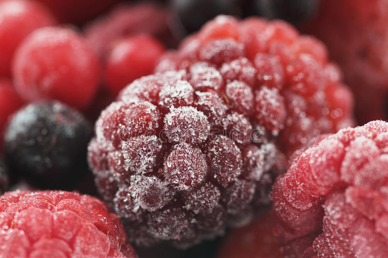 Fruto doce congelado imagem de stock royalty free