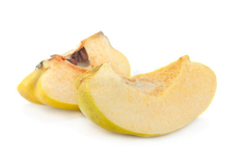 Fruto maduro do marmelo fotografia de stock royalty free