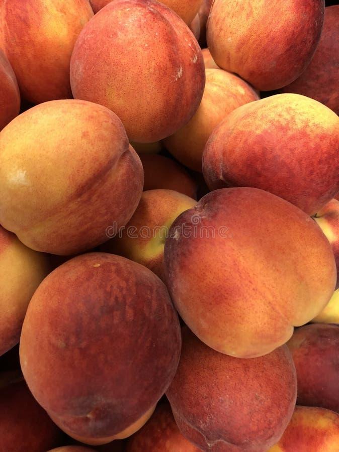 Fruto Peachy imagem de stock