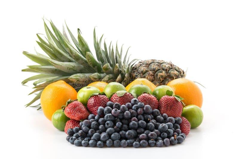 Frutos da mistura fotografia de stock