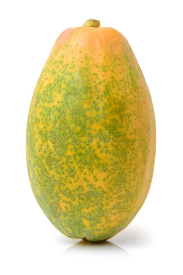 Frutos da papaia imagens de stock royalty free