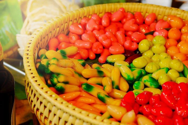 Frutos de imitação Deletable do OLHAR CHOUP de KANOM foto de stock royalty free