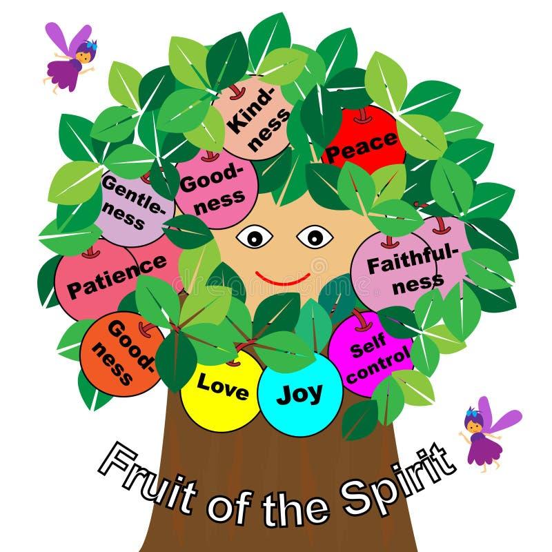 Frutos do espírito ilustração royalty free
