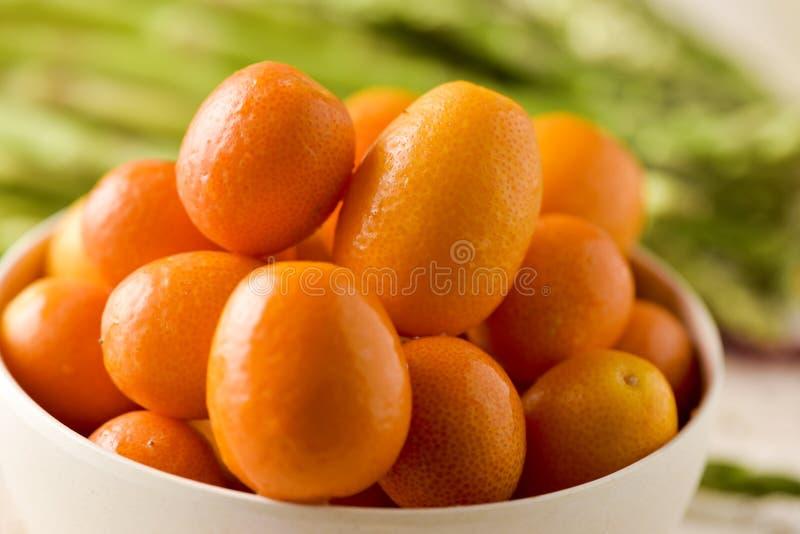 Frutos do Kumquat imagem de stock