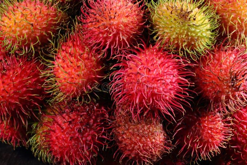 Frutos do Rambutan foto de stock royalty free