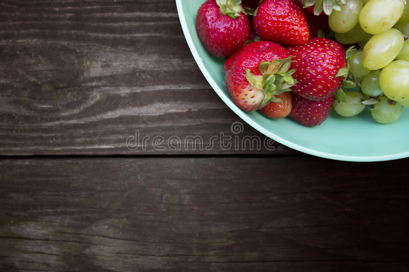 FRUTOS DO TAMPO DA MESA foto de stock royalty free